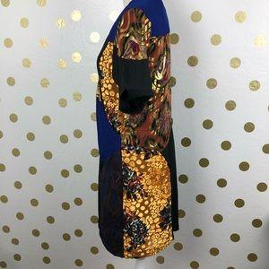 Anthropologie Dresses - Hd In Paris Silk Blend Black Motif Camellia Dress